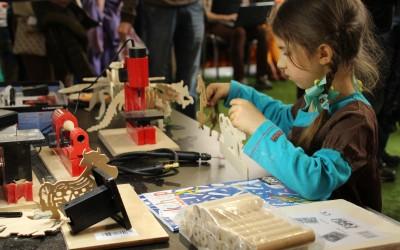 В выходные состоялся первый Фестиваль творческих технологий на ВДНХ